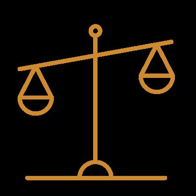 Icon Waage für Steuerberatung