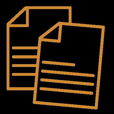 Icon Zettel für Steuererklärung